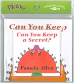 Pictory Set Pre-Step 24 : Can You Keep a Secret? (Paperback + Audio CD)