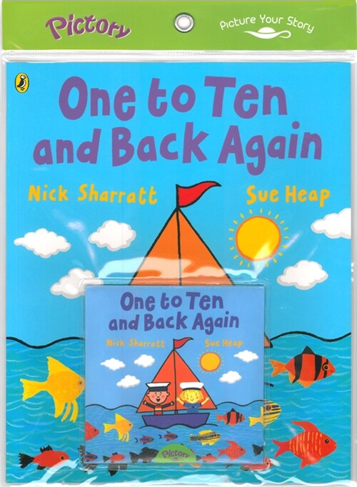 Pictory Set PS-44 One to Ten and back Again (Book, Audio CD)