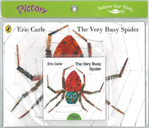 Pictory Set 1-46 The Very Busy Spider (Book, Audio CD)