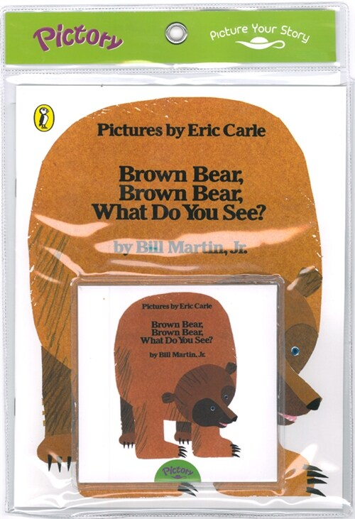 Pictory Set PS-03 Brown Bear, Brown Bear, What Do You See? (Book, Audio CD)