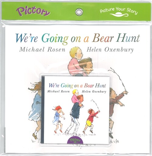 Pictory Set 1-02 Were Going on a Bear Hunt (Book, Audio CD)