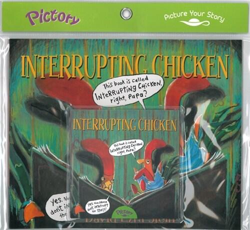 Pictory Set 1-45 Interrupting Chicken (Book, Audio CD)