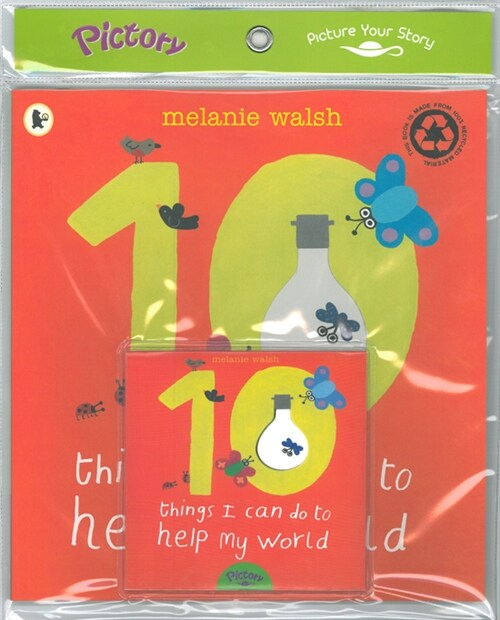 Pictory Set 1-31 / 10 Things I Can Do to Help My World (Paperback + Audio CD)