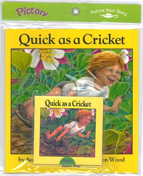 Pictory Set 1-01 Quick As a Cricket (Book, Audio CD)