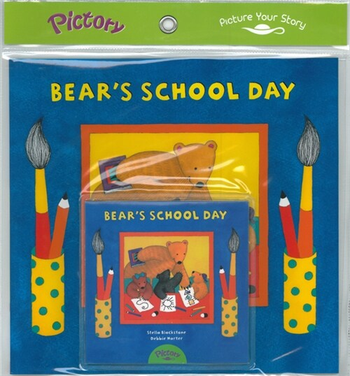Pictory Set PS-63 Bears School Day (Book, Audio CD)