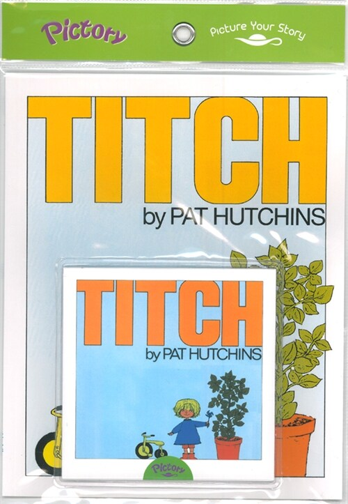 Pictory Set 1-27 Titch (Book, Audio CD)