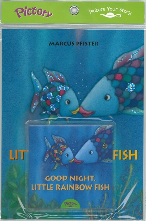Pictory Set 1-48 Good Night, Little Rainbow Fish (Book + Audio CD)