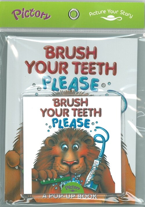 Pictory Set IT-02 / Brush Your Teeth Please (Paperback + Audio CD)