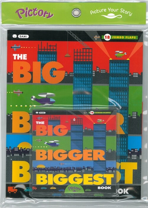 Pictory Set Infant & Toddler 07 : The Big Bigger Biggest Book (Paperback + Audio CD)