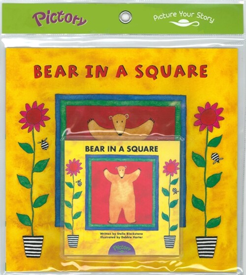 Pictory Set PS-15 / Bear in a Square (Paperback + Audio CD)