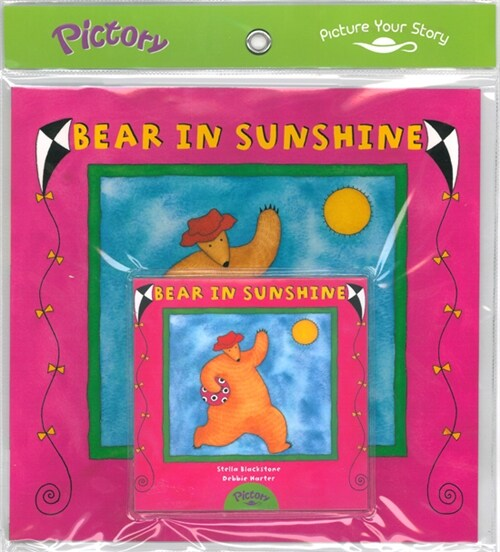 Pictory Set PS-16 / Bear in Sunshine (Book, Audio CD)