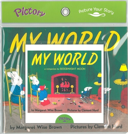 Pictory Set IT-13 / My World (Book, Audio CD)