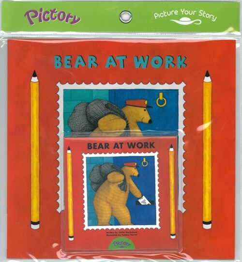 Pictory Set PS-55 Bear at Work (Book, Audio CD)