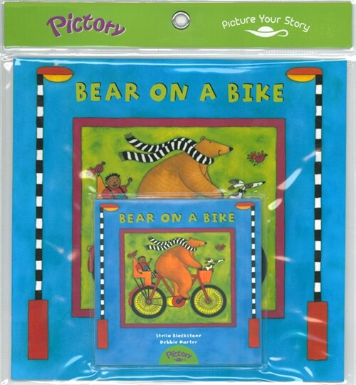Pictory Set PS-28 Bear on a Bike (Book, Audio CD)