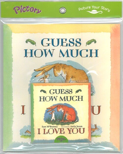 Pictory Set PS-33 Guess How Much I Love You (Book, Audio CD)