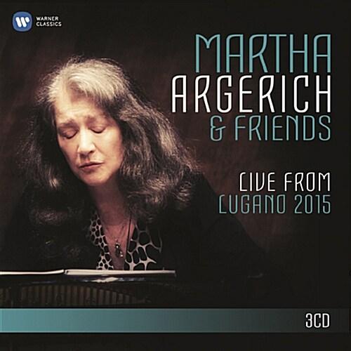 [수입] 아르헤리치와 친구들 - 2015 루가노 페스티벌 [3CD]