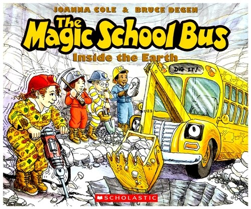 The Inside the Earth (the Magic School Bus) (Paperback)