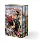 Harry Potter Illustrated Box Set (Hardcover, Illustrated Box Set)
