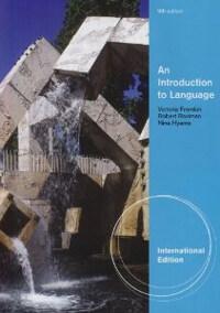 An introduction to language 9th ed., International ed.,