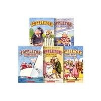 Poppleton : Small Town Box Set (Paperback 5권 + CD 1장)