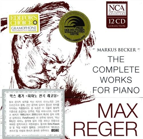 [수입] 레거 : 피아노를 위한 작품 전곡 [12CD]