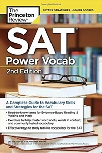 SAT Power Vocab, 2nd Edition: A Complete Guide to Vocabulary Skills and Strategies for the SAT (Paperback)