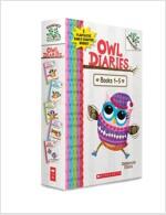 Owl Diaries #1-5 Boxed Set (Paperback 5권)