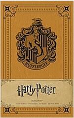 Harry Potter: Hufflepuff Hardcover Ruled Journal (Hardcover)