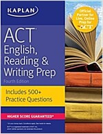 ACT English, Reading & Writing Prep: Includes 500+ Practice Questions (Paperback)