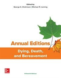 Dying, death, and bereavement / 15th ed