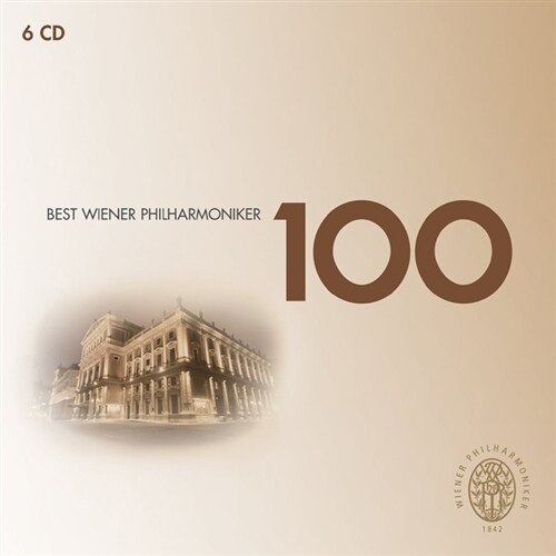 [수입] 빈 필하모닉 베스트 100 [6CD]