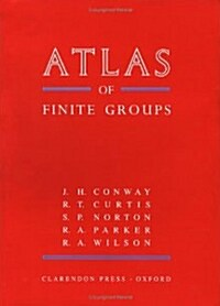 ATLAS of Finite Groups : Maximal Subgroups and Ordinary Characters for Simple Groups (Hardcover)
