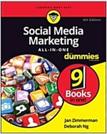 Social Media Marketing All-In-One for Dummies (Paperback, 4)