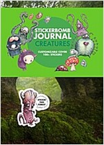 Stickerbomb Journal : Creatures (Paperback)