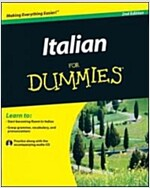 Italian for Dummies (Paperback, 2, With CD)