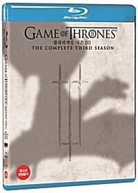 [블루레이] 왕좌의 게임 : 시즌3 (5disc)