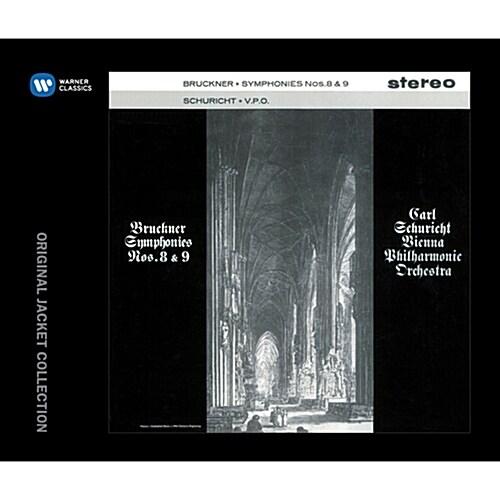 브루크너 : 교향곡 8 & 9번 [2CD][오리지널 LP 재킷]