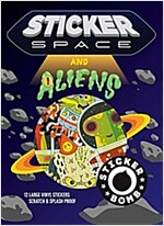 Sticker Space and Aliens (Paperback)