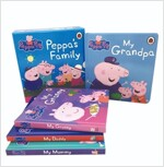페파피그 가족 이야기 보드북 4권 세트 Peppa's Family (Boardbook 4권)