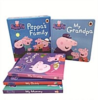 Peppas Family (4 Board books)