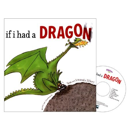 Pictory Set PS-31 / If I Had a Dragon (Hardcover + CD)