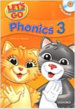 Let's Go: 3: Phonics Book with Audio CD Pack (Package)