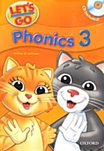 Lets Go: 3: Phonics Book with Audio CD Pack (Package)