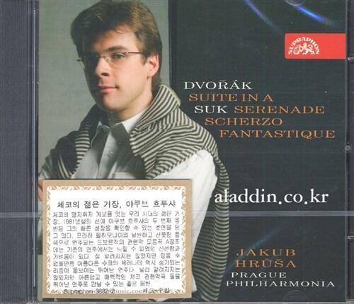 [수입] 드보르작 : 모음곡 A장조 op.98b & 수크 : 현악 오케스트라를 위한 세레나데 E플랫 장조 op.6