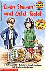 Scholastic Reader Level 3: Even Steven and Odd Todd (Paperback)