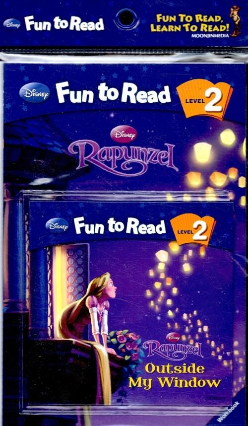 Rapunzel : Outside My Window (Paperback + Workbook + Audio CD 1장)