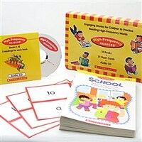 High Frequency Readers Box Set (With CD & Flashcard) (스토리 북 18권 + 오디오 CD Book 1 + 플래시카드 21장)