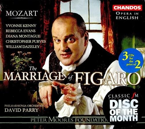 [수입] 모차르트 : 피가로의 결혼 [3 for 2]
