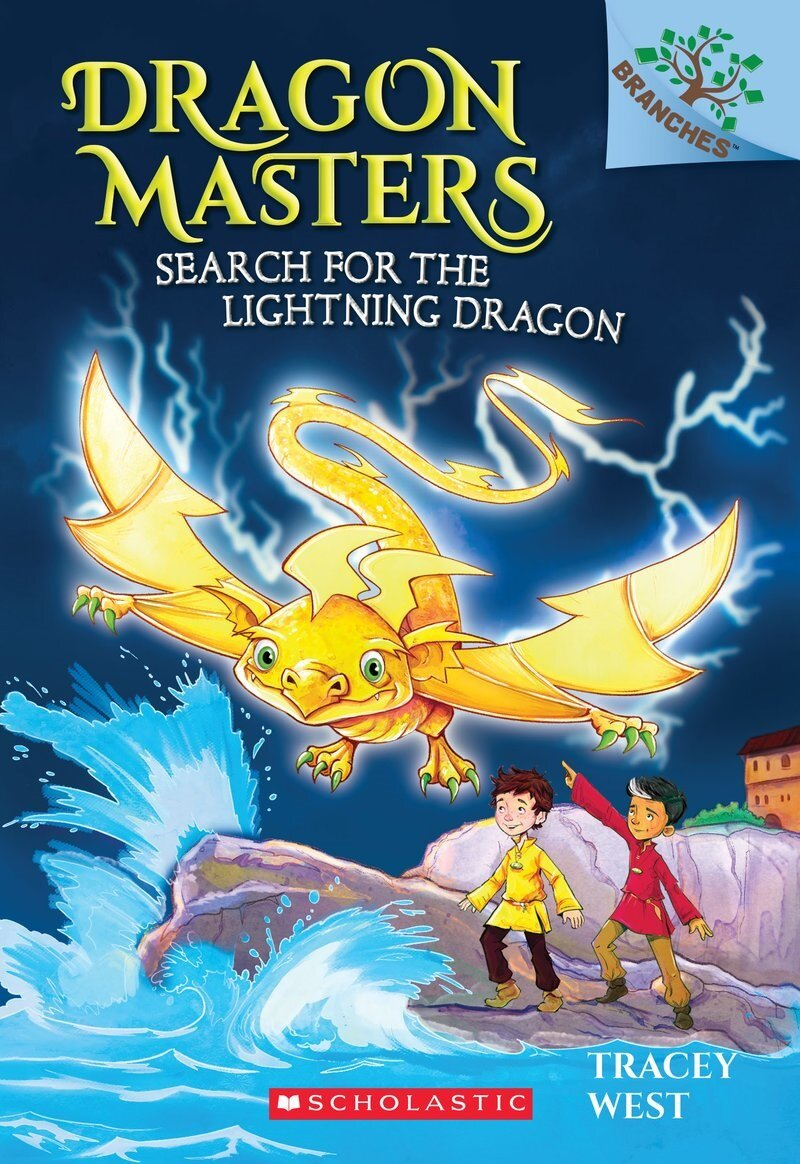 Dragon Masters #7:Search for the Lightning Dragon (Paperback)