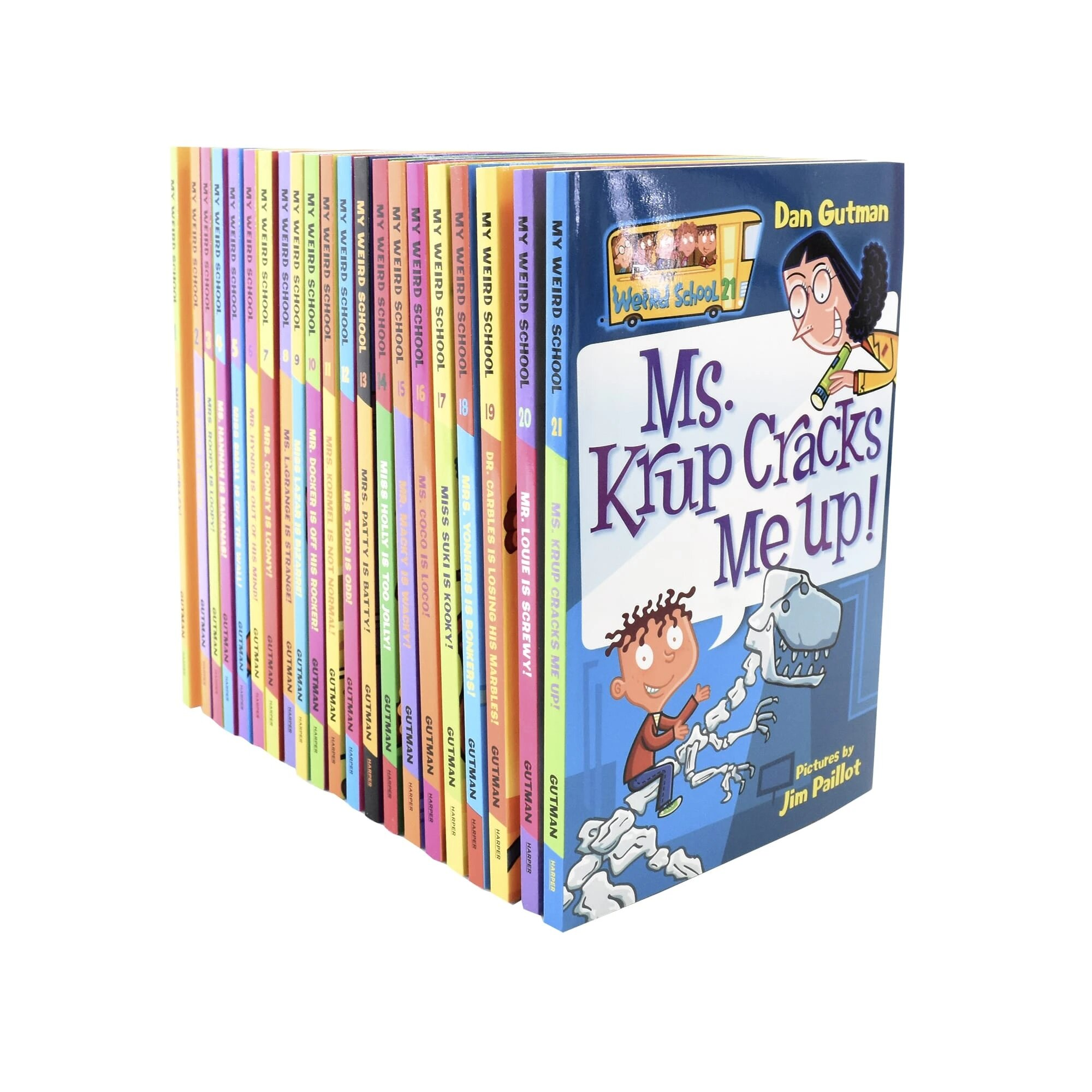 My Weird School 21-Book Boxed Set (Boxed Set)